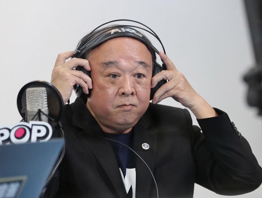 Taiwan legislator Wu Sz-huai