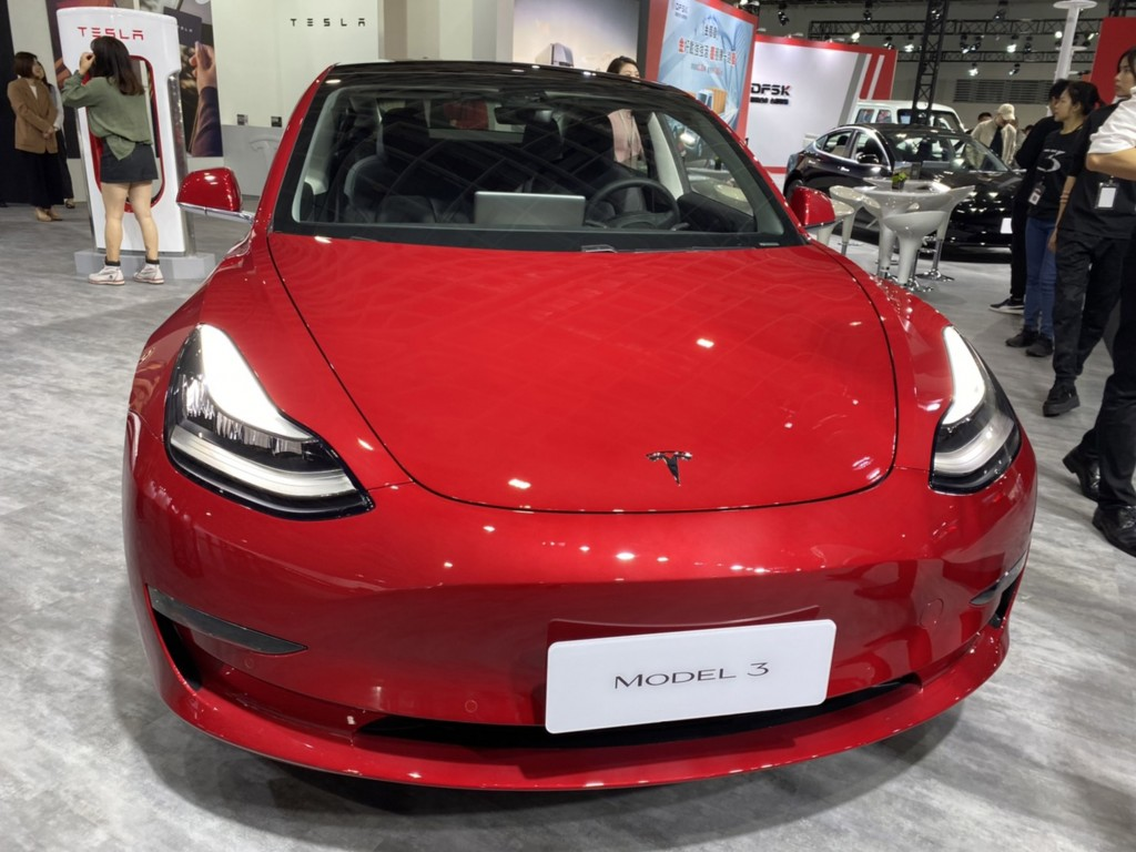 Almost 2,500 units of Tesla Model 3 have been sold in Taiwan