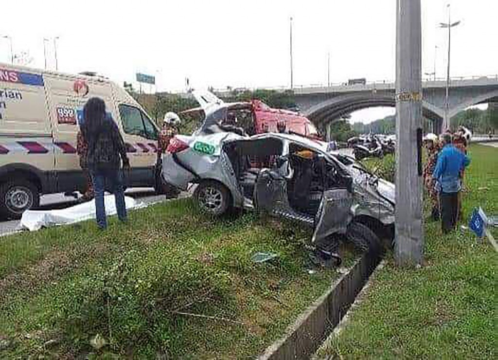 A Taiwanese woman died in a hit-and-run accident in Malaysia.