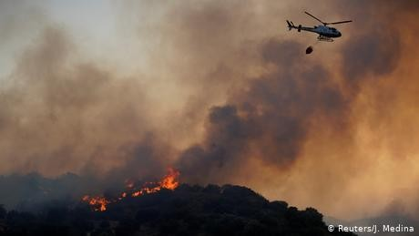 Spain fights wildfires as sweltering heat continues across Europe