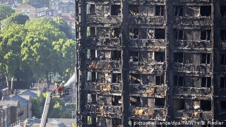 Grenfell report says there were 'systemic failings' in emergency response to blaze