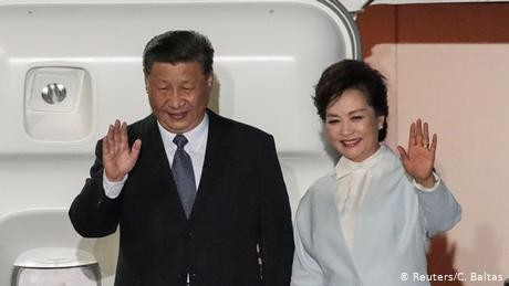 Chinese President Xi Jinping arrives in Greece for visit