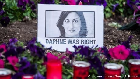 Malta arrests 'person of interest' in journalist slaying