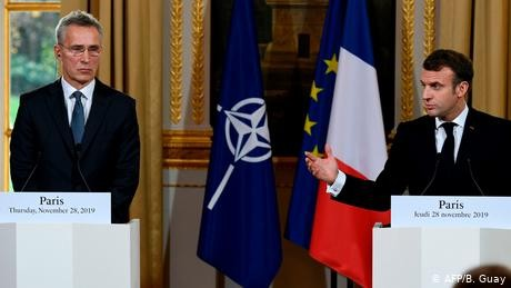 Macron stands by North Atlantic Treaty Organisation 'brain death' comments