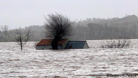 Storms Elsa and Fabian leave nine dead across southern Europe