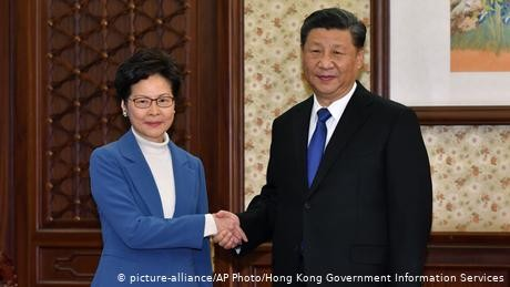 Xi says Hong Kong facing 'most difficult' time since handover