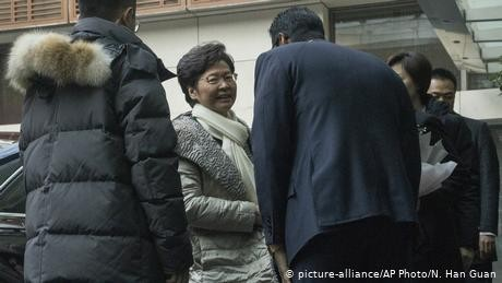 First visit for Carrie Lam to Beijing after disastrous election defeat