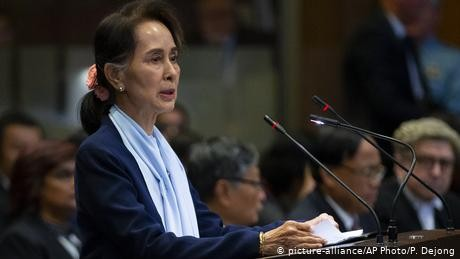 Myanmar's Suu Kyi rejects 'genocide' accusations at UN's top court