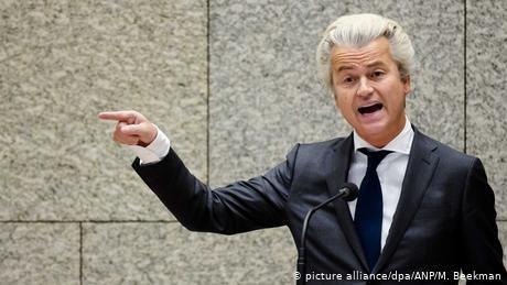 Dutch far-right politician Geert Wilders holds Muhammad cartoon contest