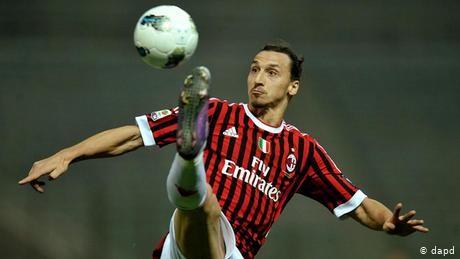 Zlatan Ibrahimovic to return to struggling AC Milan