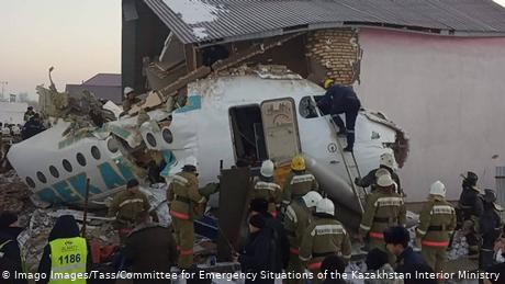 Kazakh carrier Bek Air says crash could have been caused by wake turbulence