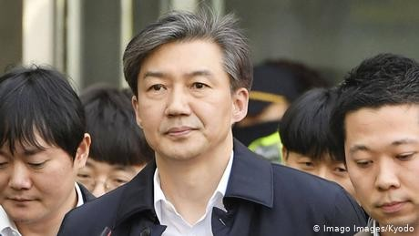 South Korea indicts ex-justice minister for corruption