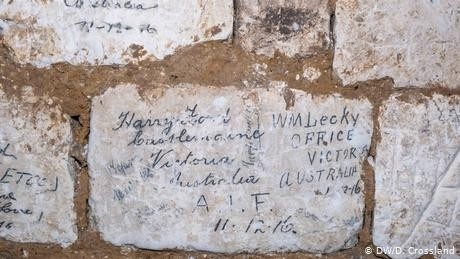 In France, underground mementos of World War I
