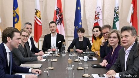 Austria: Greens enter government for first time, join Kurz's conservatives