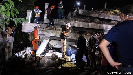 Cambodia hotel collapse search ends, 36 dead