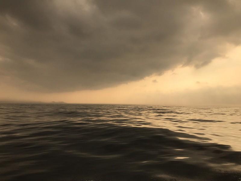 澳底海巡隊員林明毅驚見海市蜃樓?