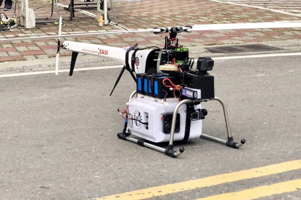 Drone used to deliver antivenom.