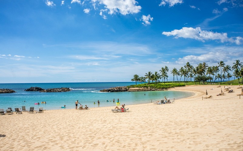 A beach in Hawaii (Photo/Pixabay)