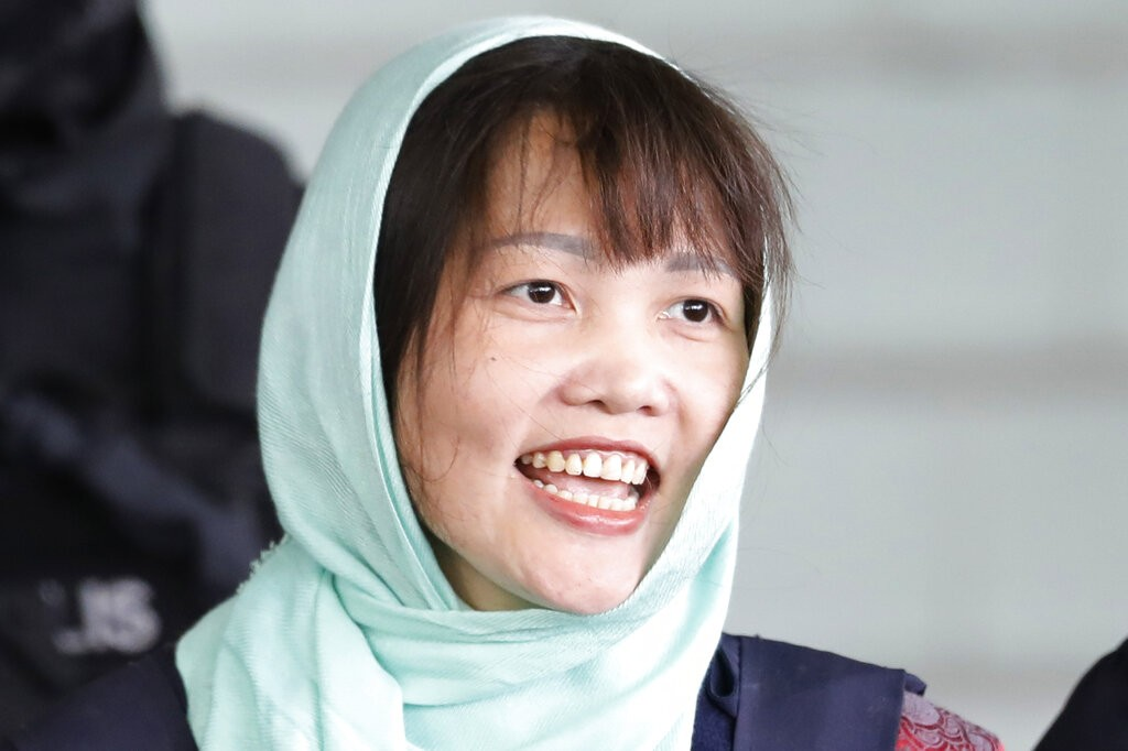 越南女子段氏香(照片來源:美聯社提供)