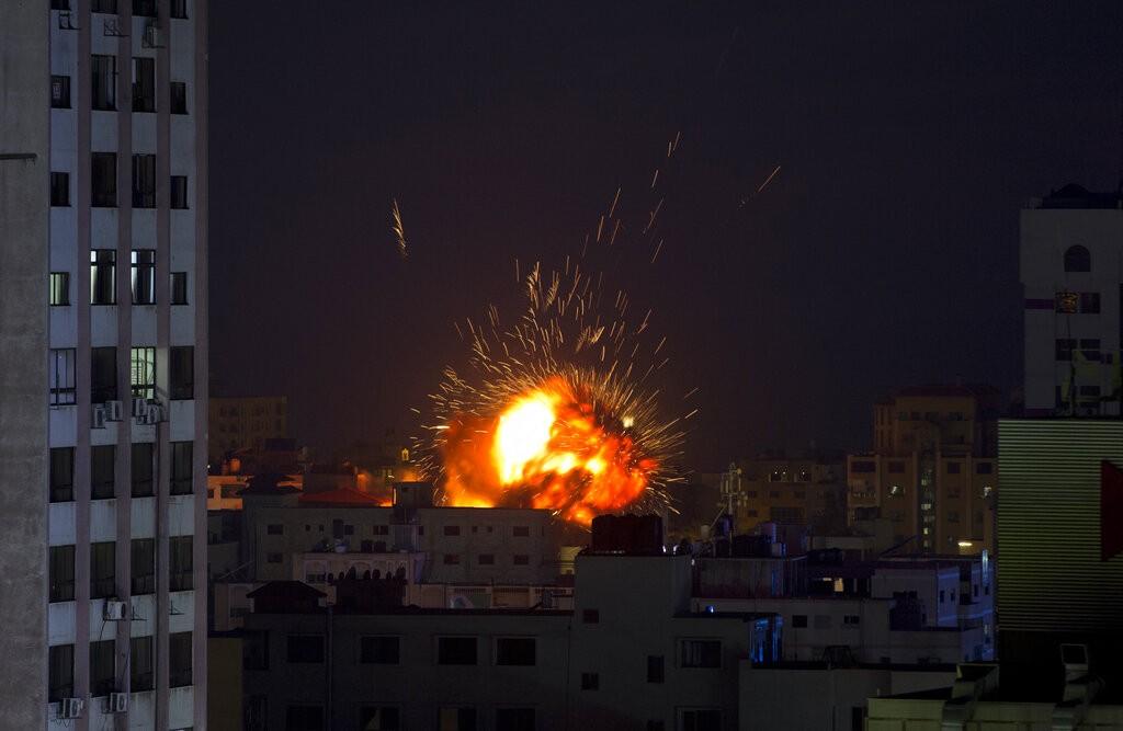 以色列與巴勒斯坦在4日再度爆發嚴重衝突(照片來源:美聯社提供)