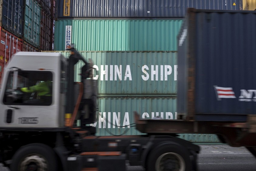China Shipping containers at the Port of Savannah (AP)
