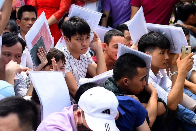 Vietnamese workers. (VnExpress photo)