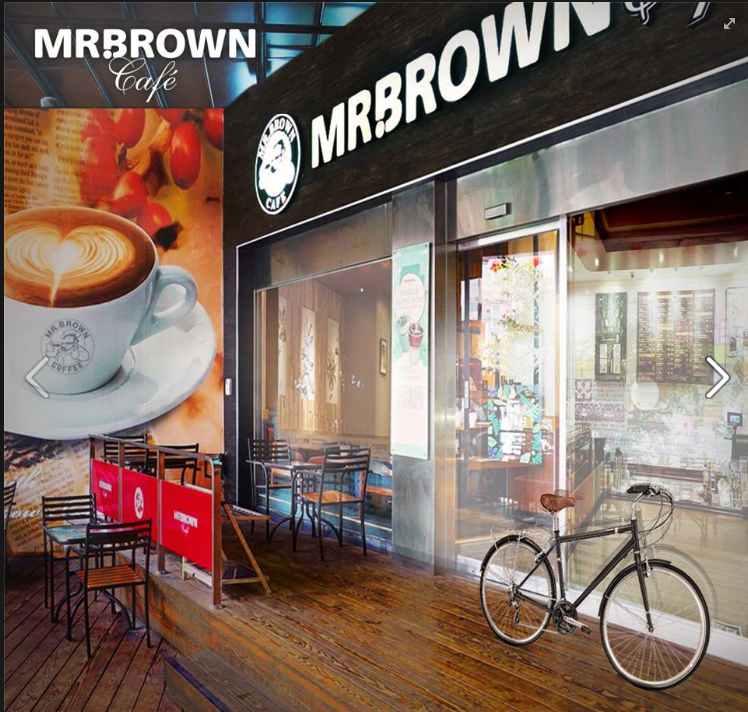 Mr. Brown also closed its Yanji Street outlet (screenshot from Mr. Brown's Facebook page).