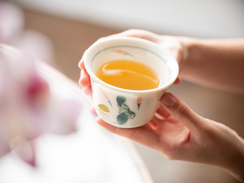 The art or tea making by Mandarin Oriental, Taipei
