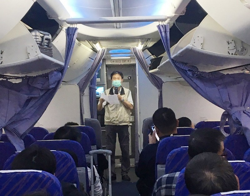 Taiwan tightens screening on visitors from Wuhan. (CDC photo)