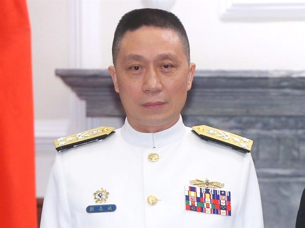 Liu Chih-pin to serve as Acting Chief of General Staff.