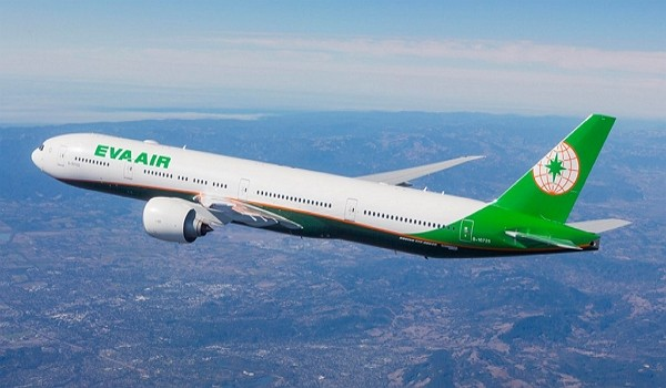 EVA Air selected as 3rd safest in world. (EVA Air photo)