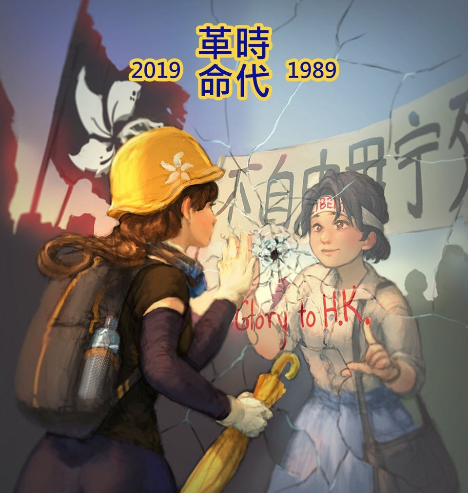Photo of the Day: Parallels between Tiananmen and Hong Kong protests