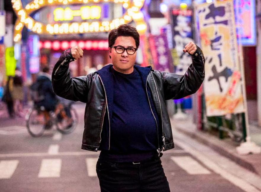 甄子丹喜劇新作《肥龍過江》將於1月23日上映(圖/華映娛樂)