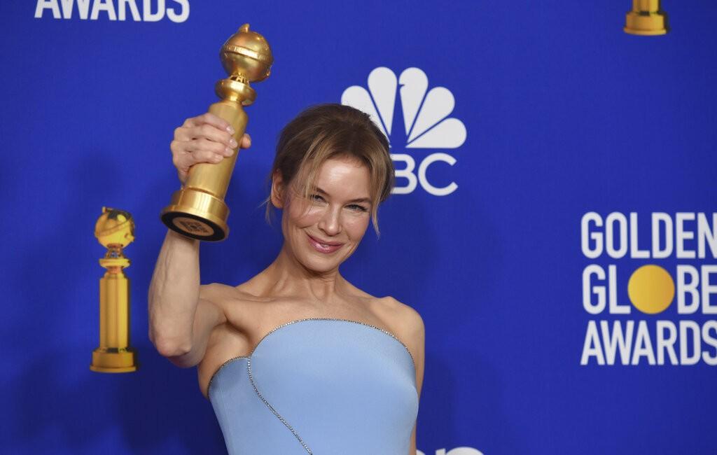 芮妮齊薇格以《茱蒂》(Judy)勇奪2020年第77屆金球獎戲劇類電影「最佳女主角獎」肯定。(圖/美聯社)