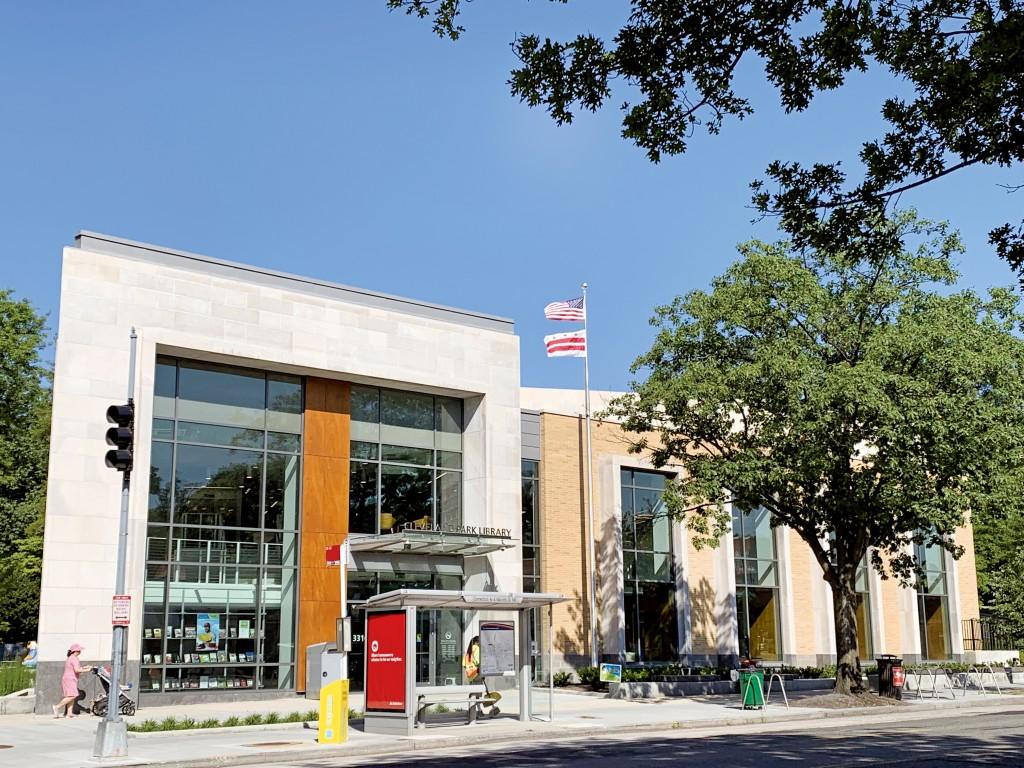 克利夫蘭公園圖書館外觀設計將傳統與現代融為一體。