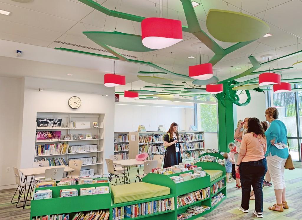 兒童室營造出活潑有趣的氛圍。