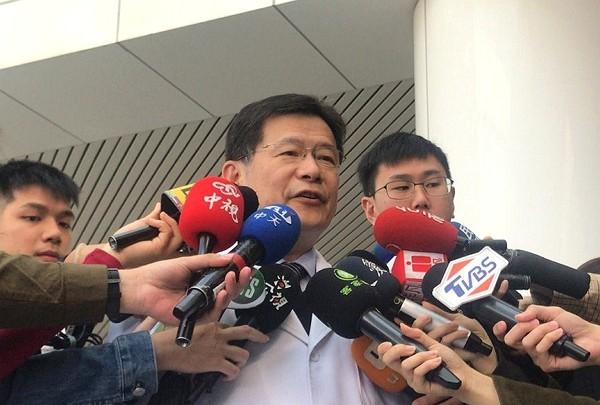 TSGH superintendent Tsai Chien-sung. (CNA photo)