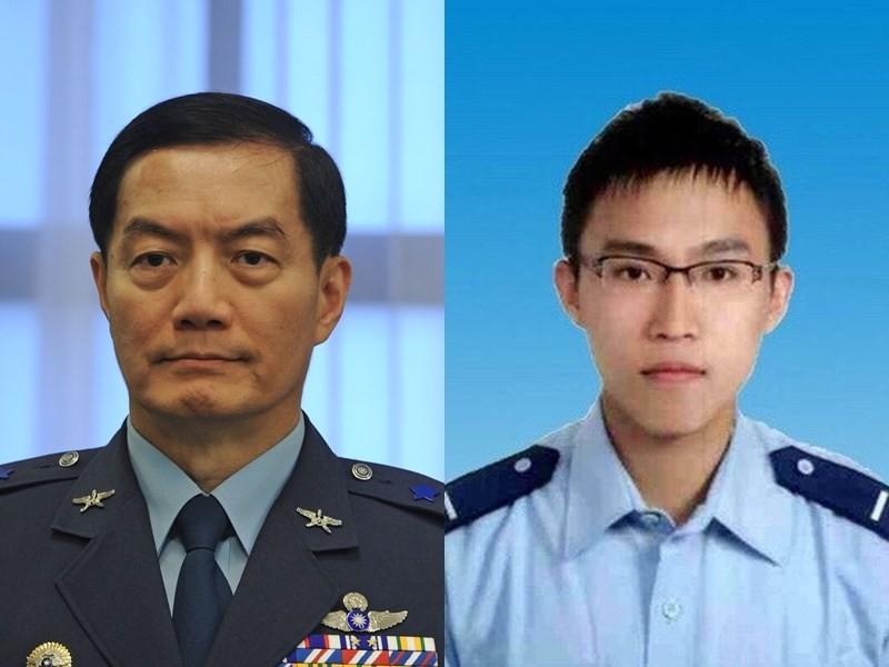 2019年參謀總長沈一鳴(左, 中央社圖)上任後,拔擢黃聖航(右, 國防部圖) 擔任侍從官。兩人可說「一起到任、一起離開」。