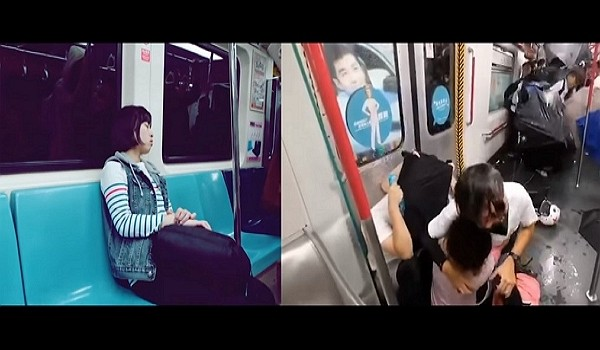 Tsai Ing-wen's campaign video compares Taiwan to Hong Kong. (Youtube screenshot)