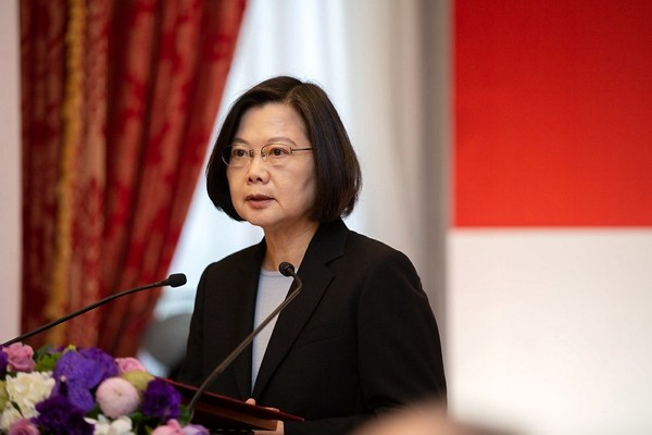President Tsai Ing-wen holds security conference on US-Iran tensions. (Presidential Office photo)