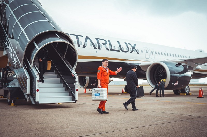 StarLux Airlines Chairman Chang Kuo-wei (StarLux Airlines Facebook photo)