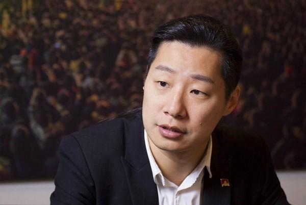 Freddy Lim is elected legislator in Taipei'sNo. 5 constituency. (Facebook photo)