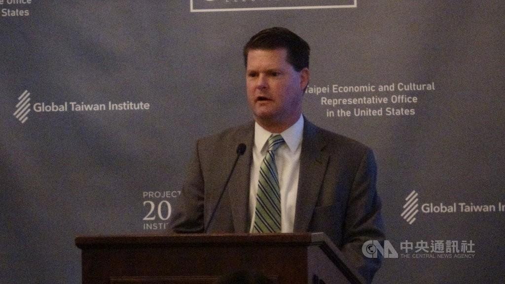圖為美國國防部前印太事務助理部長薛瑞福。