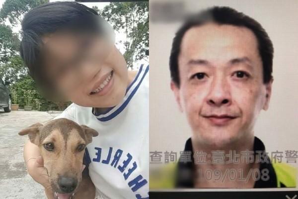 Teng (left), Lin (right). (Facebook, Taipei Police Department photos)