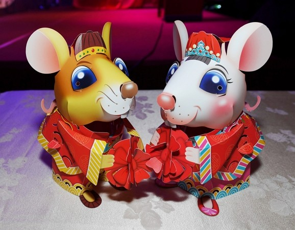 Rat-themed hand lanterns to be given out in Taichung.