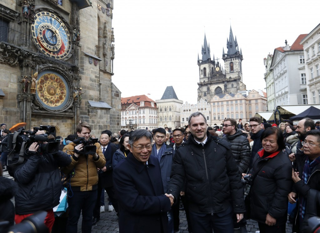 Prague signs sister city agreement with Taipei after dumping Beijing