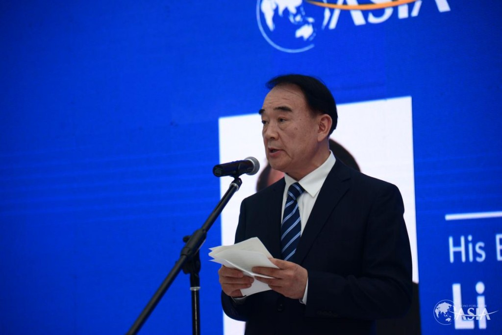 圖為博鰲亞洲論壇秘書長李保東。(圖片取自boaoforum.org)