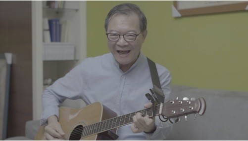Songwriter urges children to sing Taiwanese songs