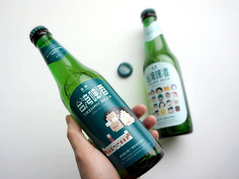 Commemorative beer released by Taiwan Tobacco and Liquor Corporation for Tsai's inauguration in 2016. (TTL photo)