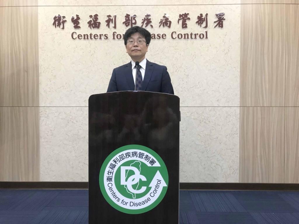 圖為疾管署長周志浩。